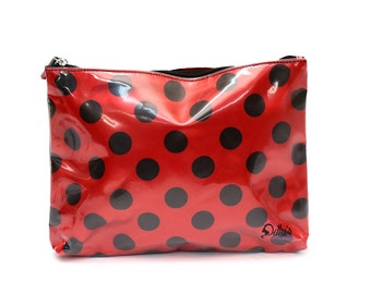 Dilly's Collection Cosmetic bag / Make Up Bag /Travel organizer Fits in Handbag