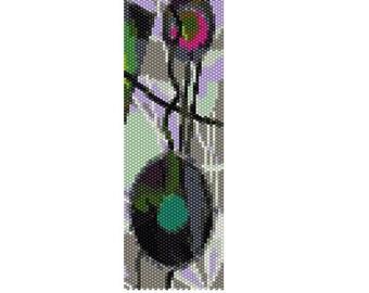 BPDE0011 Deco 11 Even Count Single Drop Peyote Cuff/Bracelet Pattern