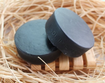 Hockey Puck Soap