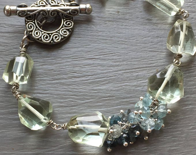 Featured listing image: Green Amethyst Bracelet