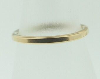 Plain 14k Gold Trinket Ring- Stackable
