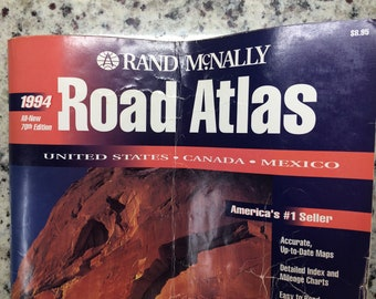 1994 Rand McNally's Road Atlas