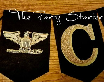 Army (Colonel) CONGRATS Promotion/Retirement Banner