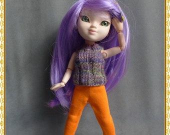 Coloured Leggings for Makie Dolls