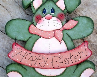 E-PATTERN Kit 907 - Green Bunny