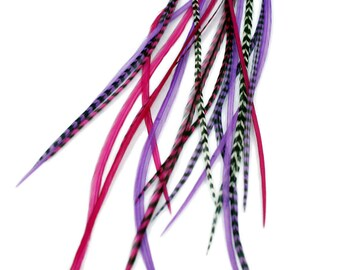 Real Feather Hair Extensions : Queen