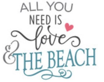 All you need is love and beach