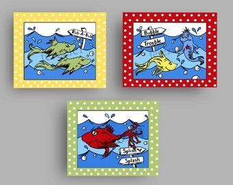 Merveilleux Dr. Seuss Bathroom Art, Kids Bathroom Art, Bathroom Wall Decor, Kids Baby  Nursery Art
