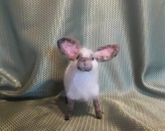 Needle Felted Woolly Sheep