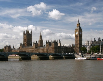 Houses of Parliament, London - Digital Download