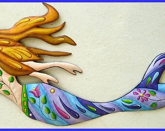 Mermaid Wall Decor | Etsy