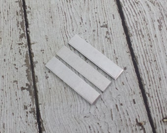 Aluminum Tag Blanks - 16 Gauge Rectangle Tags