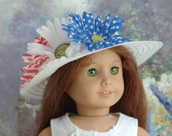 Fourth of July Hat for American Girl