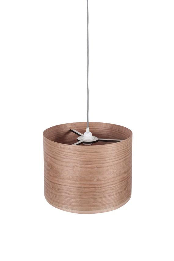Drum shade pendant light pendant lamp hanging lamp hanging drum shade pendant light pendant lamp hanging lamp hanging light ceiling lamp ceiling light cherry veneer lampshadecylinder aloadofball Choice Image