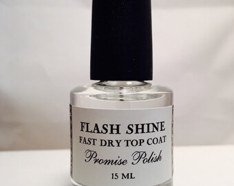 Flash Shine  fast dry top coat 15 ml