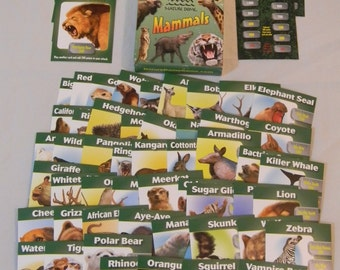 Nature Dome Mammals animal-power dueling card game