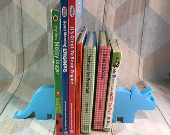 Dinosaur Bookends - 3D Printed - Book Storage - Nursery Decor - Children's Bedroom - Gifts for boys - Gifts for girls - Birthday Gifts