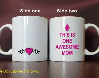 Best Mom Mug Gift - Mom Mothers Day -  Mother's Day Gift from Son or Daughter, MMA021