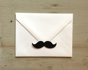 35 Mustache (Little Man) stickers