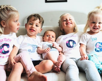 Big Sister Shirt - Big Sister Little Sister Outfits - Big Sister Gift - Big Sister Shirt Announcement
