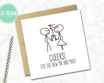 Wedding Card (STICKIES)