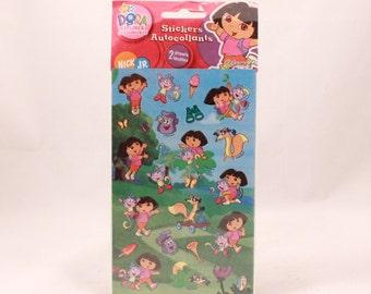 Nickelodeon Dora Stickers. 2 Sheets Sealed