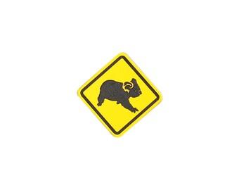 Australian Street Sign Koala Pin
