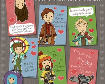 Firefly Valentine's Day Card
