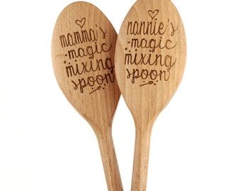 Personalised Magic Mixing Spoon - Birthday Gift - Baking Tool - 18th Birthday Gift - Personalised Spoon - Personalised Baking - Gift For Her