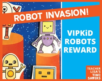 VIPKID Robots Reward Set