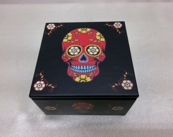 Day of the dead holding box