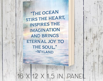 Inspirational art, thoughtful gifts, 12x16, housewarming gifts, beach decor, coastal decor, nautical decor, nautical gifts, coastal gifts