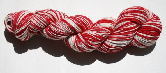 Red Wings Self Striping Hand Dyed Sock Yarn