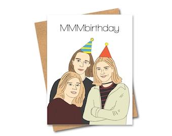 Hanson Birthday Card - MMMbop - 90s