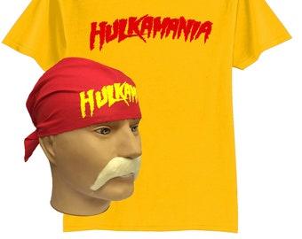 hulk hogan costume box
