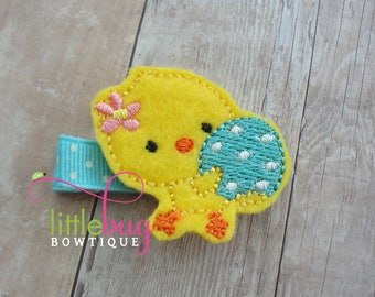 Easter Chick Hair Clips, Baby Chick Hair Clips, Easter Hair Clips, Hair Clips, Yellow Hair Clips, Spring Hair Clips, Girls, Babies, Toddlers