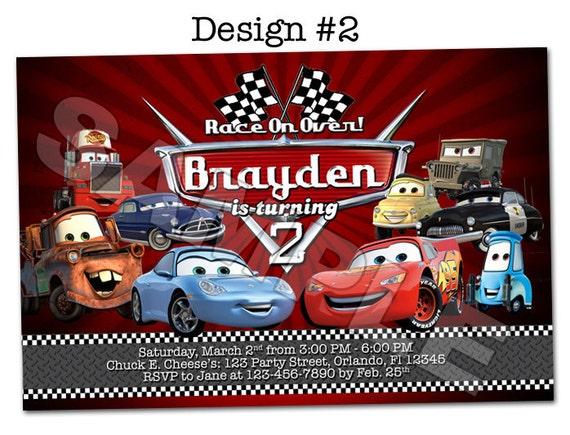 Disney pixar cars lightning mcqueen mater birthday party photo like this item filmwisefo Gallery