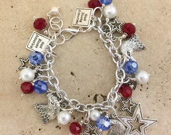 4th of July Bracelet SPBR009