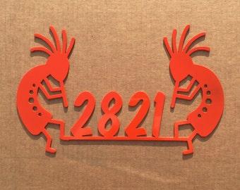 Kokopelli Address Sign (K25)