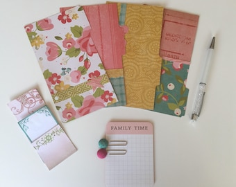 Chloe - 4 Personal Size Planner Dividers