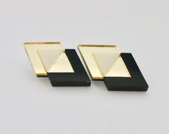 Loshiki Polygon Earrings