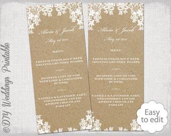 free printable menu card template juve cenitdelacabrera co