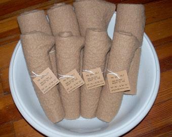 Fat 1/8 Wool Felt Neutral Shades