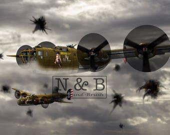 B-24 Bomber 47lb paper