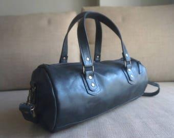 Tube Type Shoulder Bag