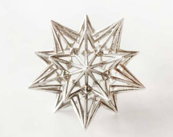 Divine Love Star - Stellated Dodecahedron - Platonic Solids - Archimedean Solids