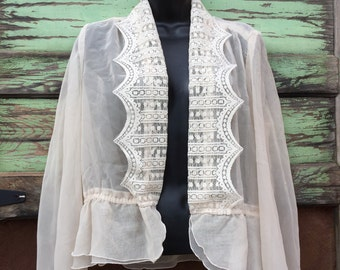 Vintage Sheer Blouse