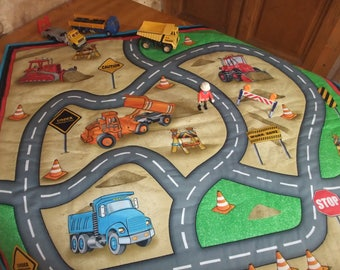 Play mat, blanket, printing roads and construction