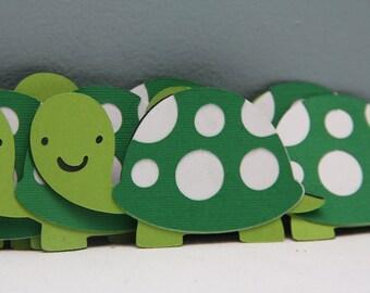 Cricut Die Cut Turtles-Set of 8
