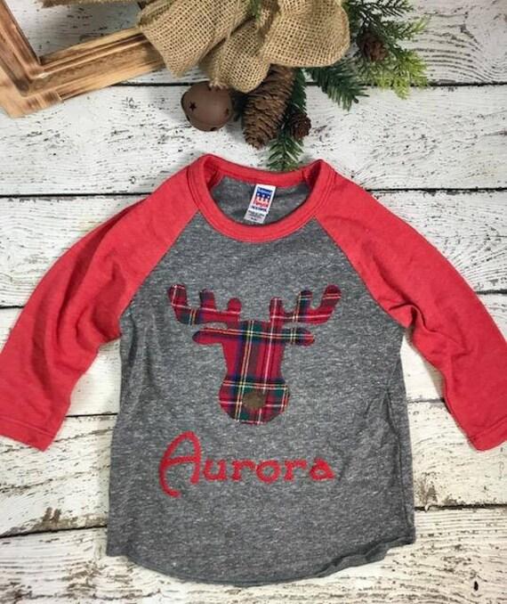 Moose Pajamas Family Christmas Pajamas Custom Christmas